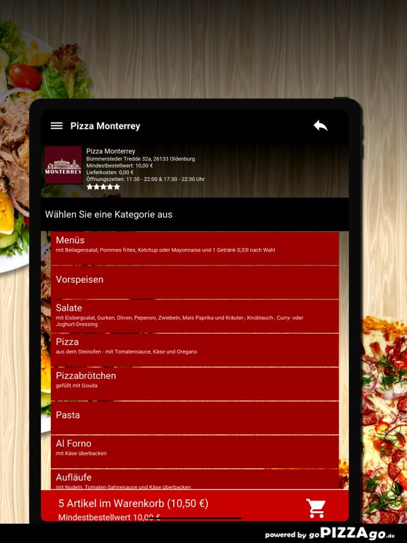 Pizza Monterrey Oldenburg screenshot 8