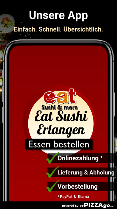 Eat Sushi & More Erlangen screenshot 1