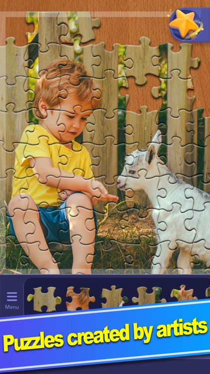 ColorPlanet® Jigsaw Puzzle HD