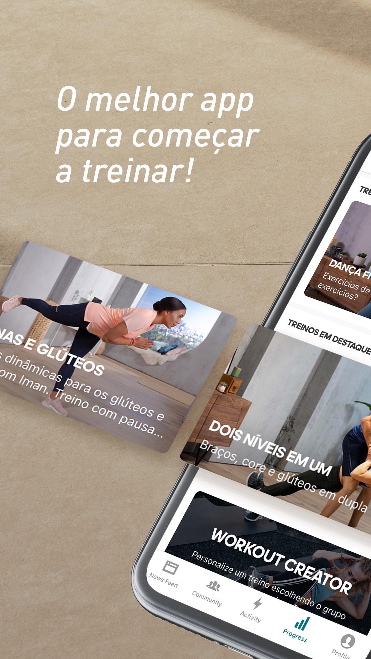Screenshot do app adidas Training by Runtastic