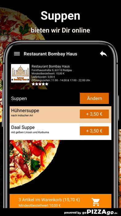Restaurant Bombay Haus Rodgau screenshot 6