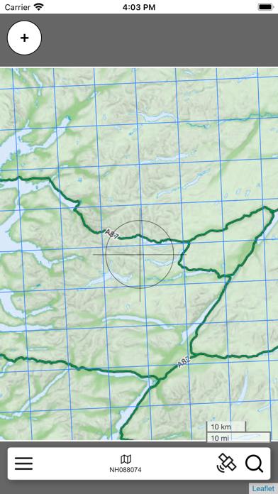 Ben Nevis, W Scotland Map Pro screenshot 3