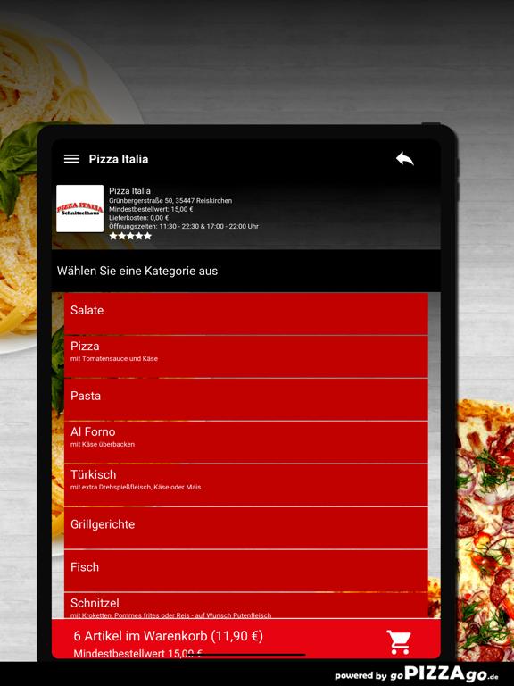 Pizza Italia Reiskirchen screenshot 8