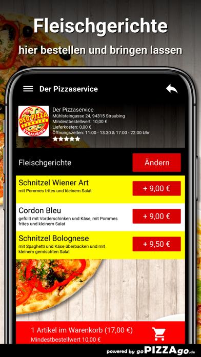 Der Pizzaservice Straubing screenshot 6