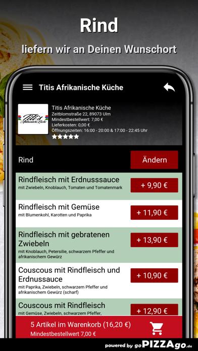 Titis Afrikanische Küche Ulm screenshot 6