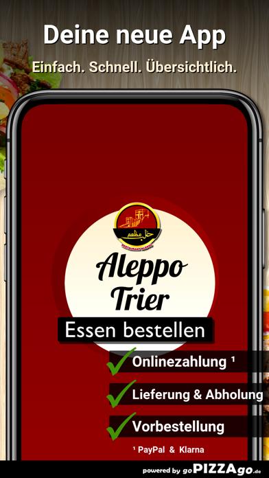 Restaurant Aleppo Trier screenshot 1