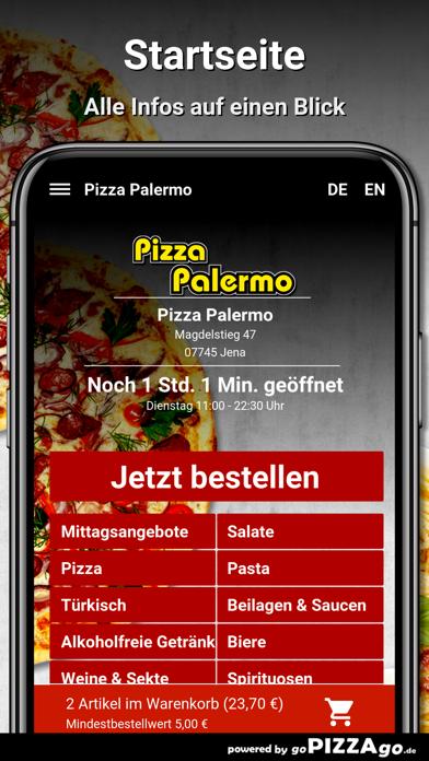 Pizza Palermo Jena screenshot 2