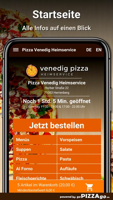 Pizza-Venedig Herrenberg screenshot 2