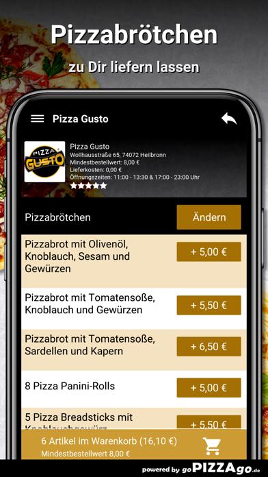 Pizza Gusto Heilbronn screenshot 5