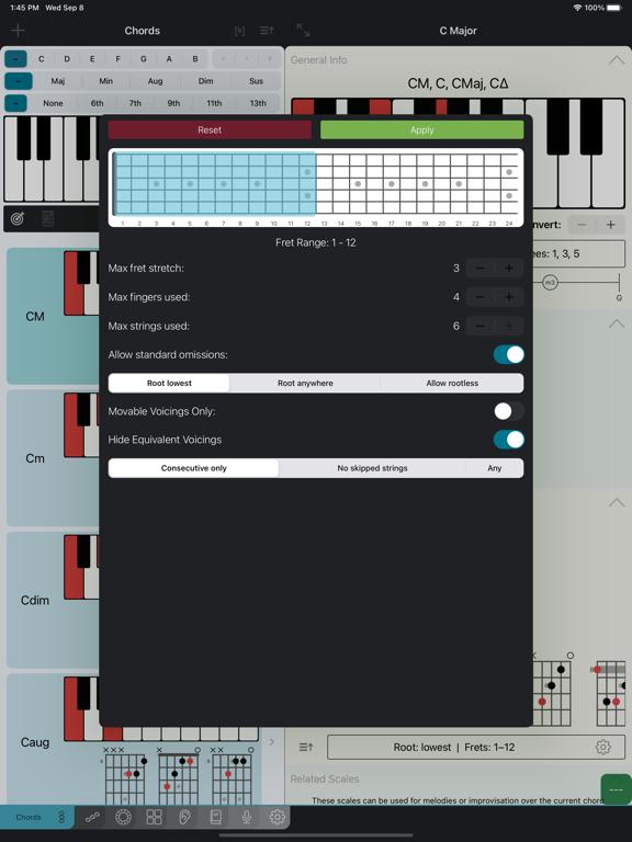 Tonality: Music Theory Screenshots