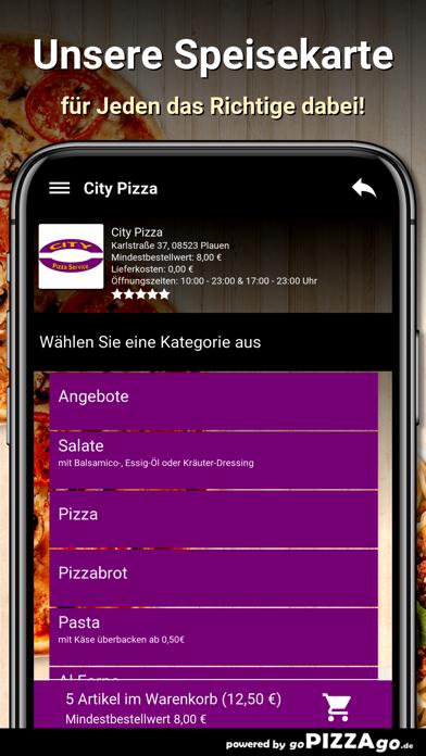 City-Pizza Plauen screenshot 4