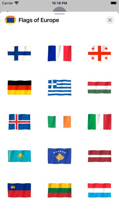 Flags of Europe Screenshot