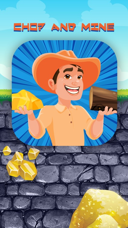 Lumber Jack: Mine & Chop Shop screenshot-0