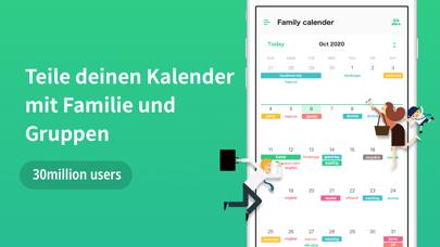 TimeTree: Gemeinsamer KalenderScreenshot von 1