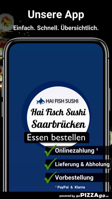 Hai Fisch Sushi Saarbrücken screenshot 1