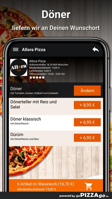 Allora Pizza München screenshot 5