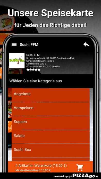 Sushi FFM Frankfurt am Main screenshot 4