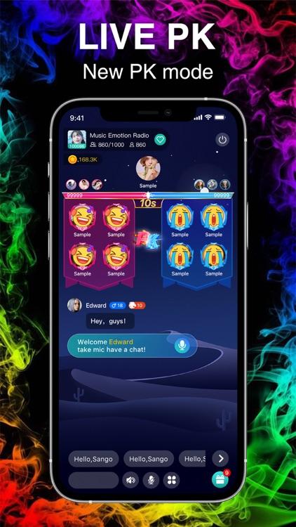 Sango - Group Voice Chat App screenshot-6