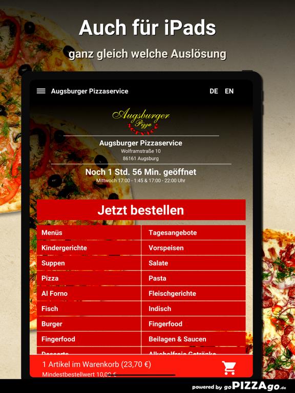 Augsburger Pizzaservice Augsb screenshot 7
