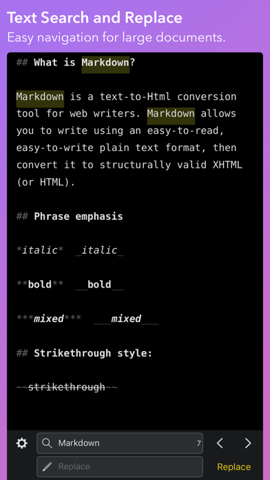 Скриншот №4 к iWriter Pro