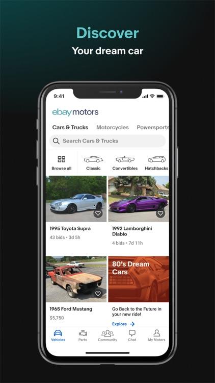eBay Motors: Parts, Cars, etc screenshot-3