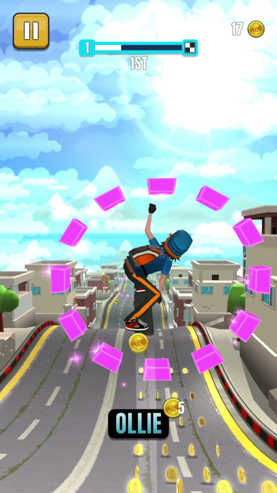 Faily Skater Street Racer screenshot 4