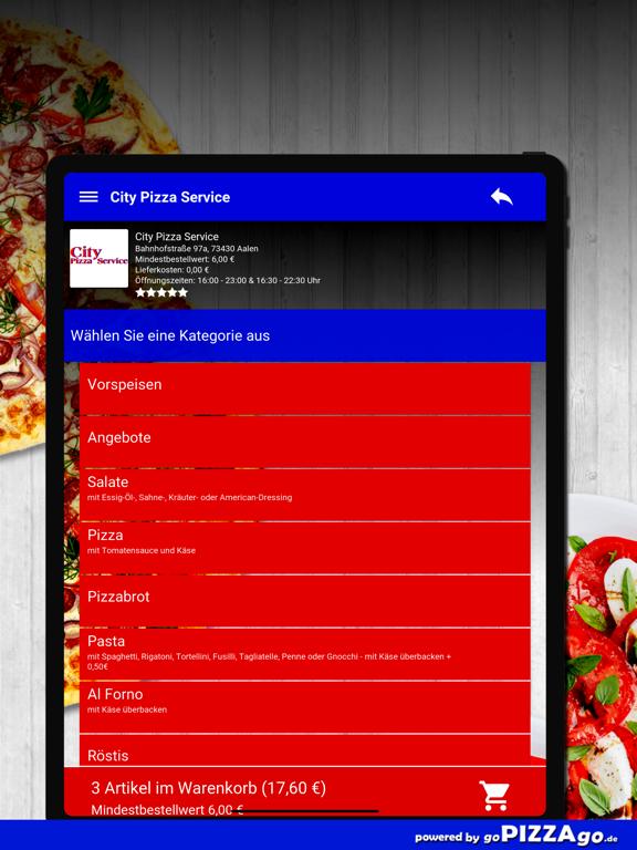 City Pizza Service Aalen screenshot 8