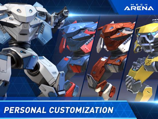 Mech Arena: Robot Showdown iPad app afbeelding 5