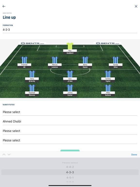 Sentr: Football screenshot 8