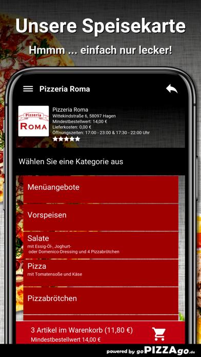 Pizzeria Roma Hagen screenshot 4