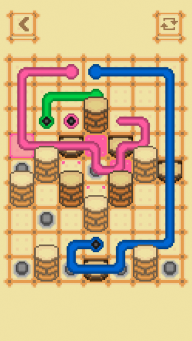 Screenshot of Clink: Two Dots Connect Puzzle App