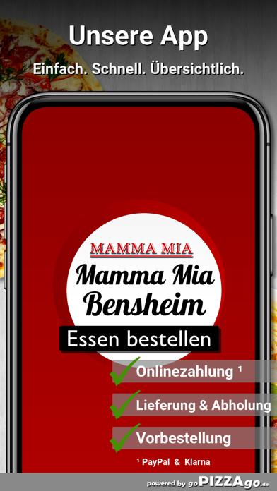 Pizzeria Mamma Mia Bensheim screenshot 1