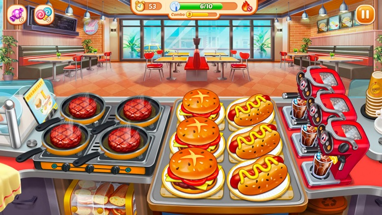 Crazy Diner:Kitchen Adventure