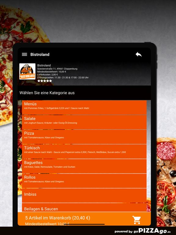 Bistroland Cloppenburg screenshot 8