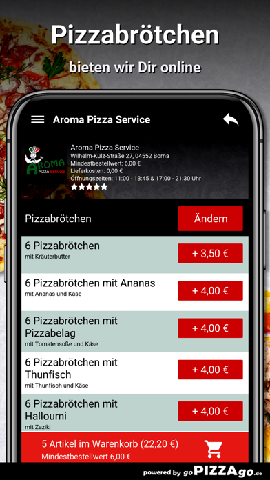 Aroma Pizza Service Borna screenshot 1