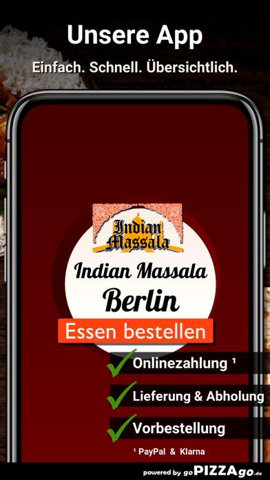 Indian Massala Berlin screenshot 1
