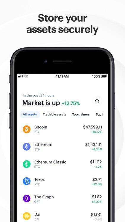 Coinbase: Trade BTC, ETH, DOGE screenshot-3