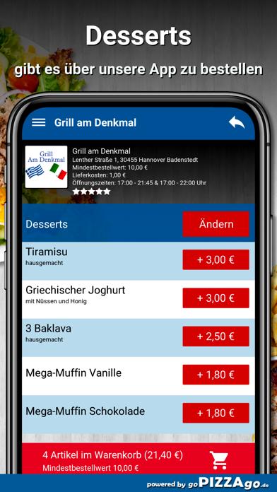 Grill am Denkmal Hannover screenshot 1