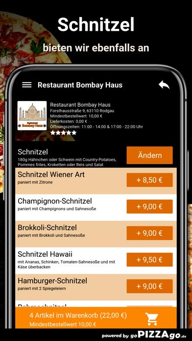Restaurant Bombay Haus Rodgau screenshot 1
