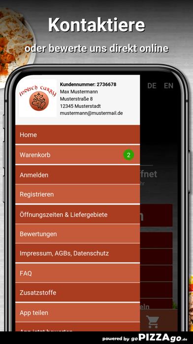 Indisch Curry House München screenshot 1