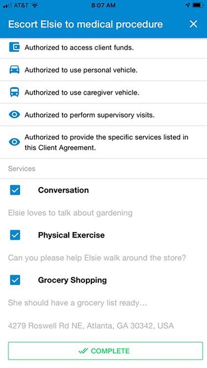 Bubbe's Care Provider screenshot-7