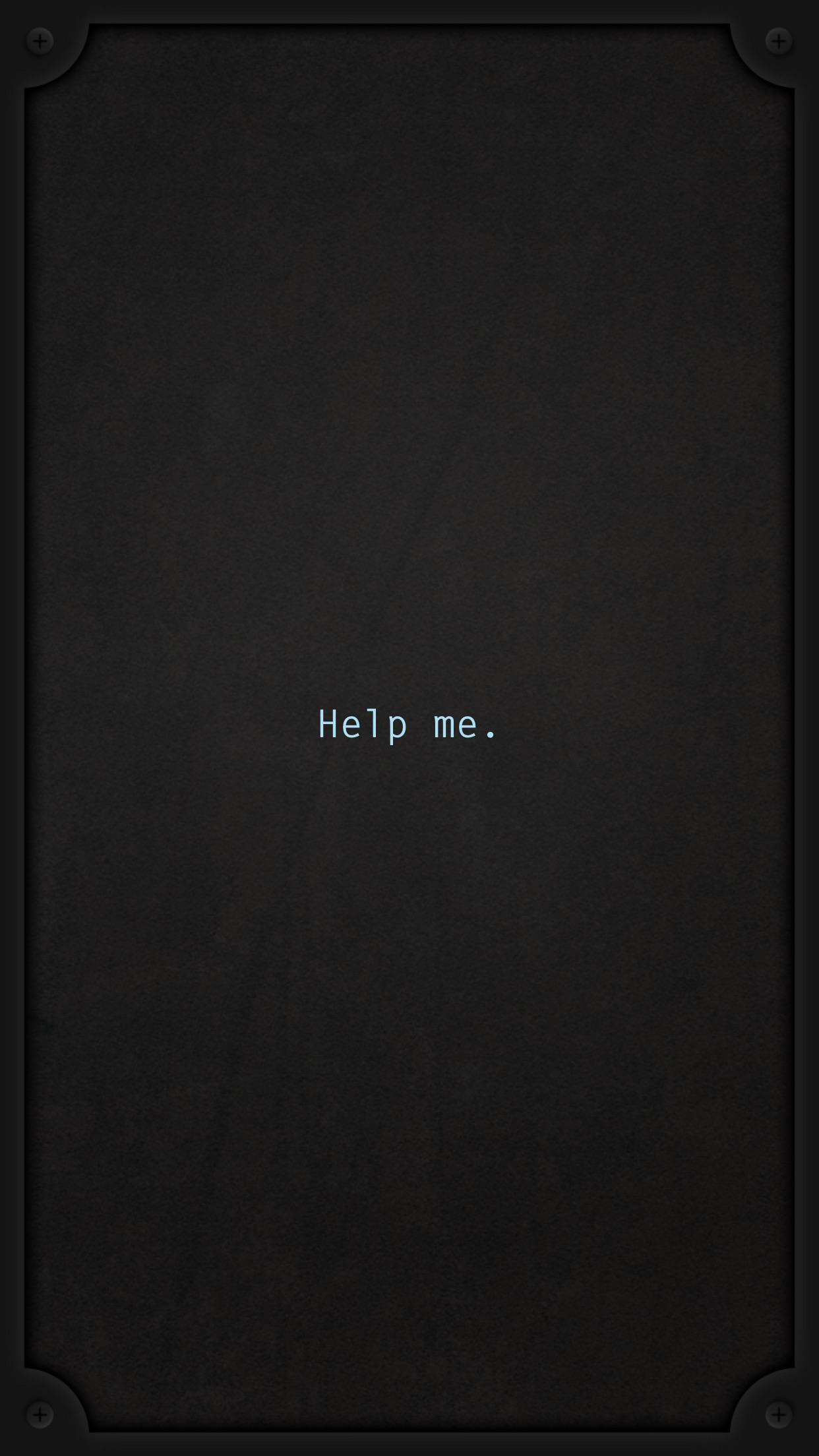 Screenshot do app Lifeline...