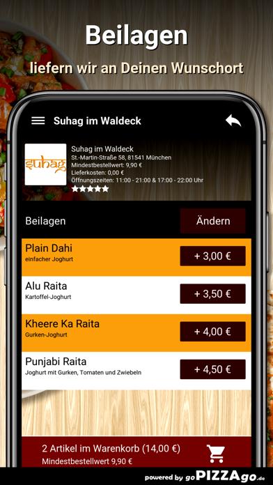 Suhag im Waldeck München screenshot 6