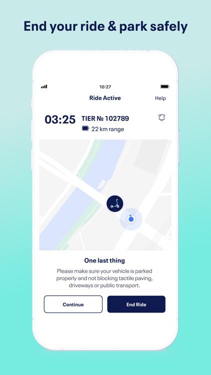 TIER e-scooter sharing & more screenshot-3