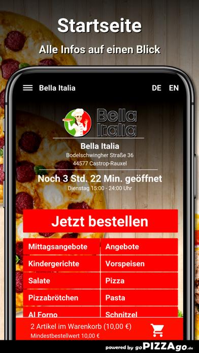 Bella Italia Castrop-Rauxel screenshot 2