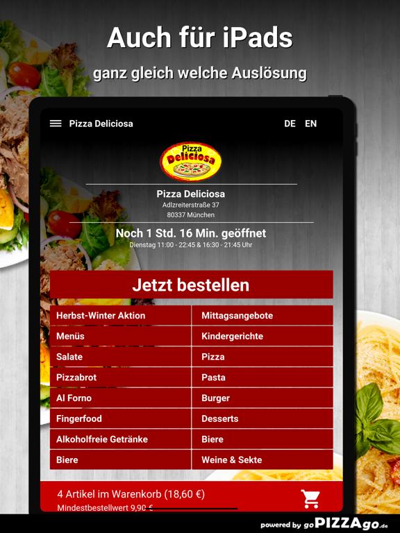 Pizza Deliciosa München screenshot 8
