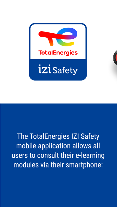 TotalEnergies IZI Safety screenshot 1