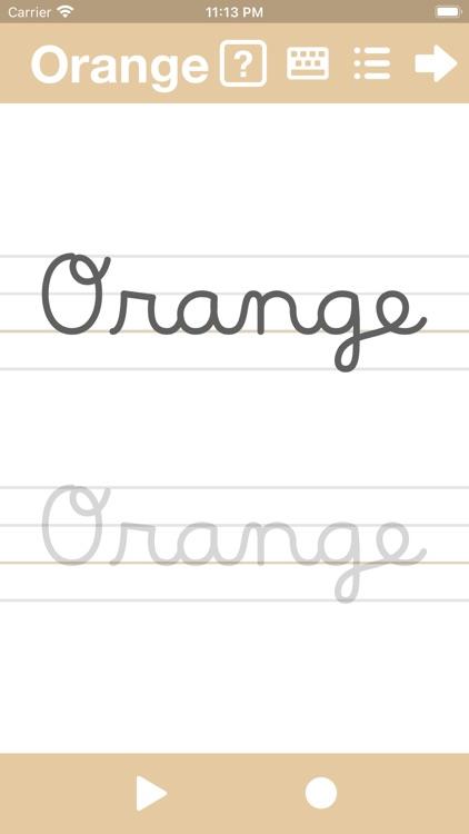 Cursive Writing App@ abCursive screenshot-3