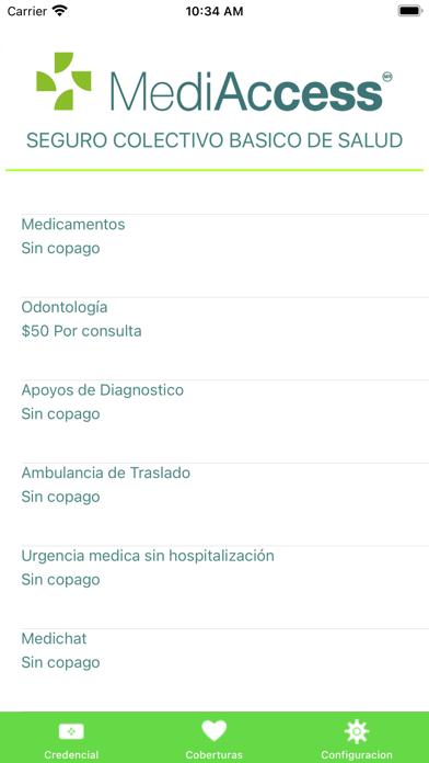 Afiliados MediAccess screenshot 7