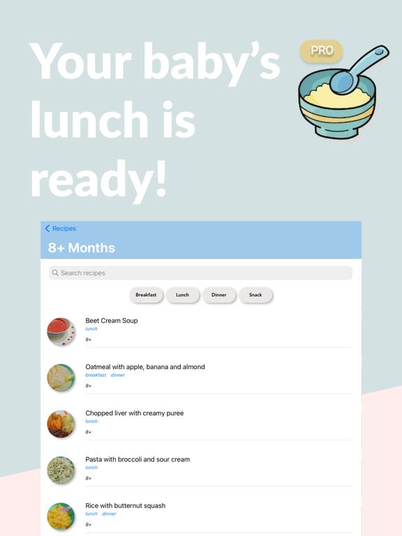 Baby Solids Food Tracker PRO screenshot 5